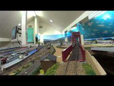 ▶ HOレイアウト前面展望 ジョイフルトレイン客車色々 - YouTube
