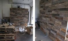 Shane's World: How to Build A Pallet Wall