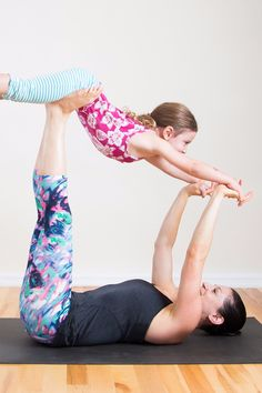 You love yoga. You love spending time with your children. So why not combine the two and do yoga together? These partner yoga poses are perfect for all ages; you'll just need to modify them depending on your child's ability and attention span. Have fun!