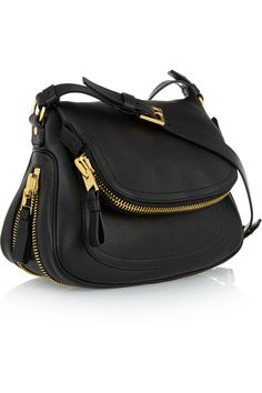 Tom Ford Jennifer medium textured-leather shoulder bag