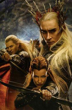 Mirkwood King, Elven Prince, and Royal Guard.