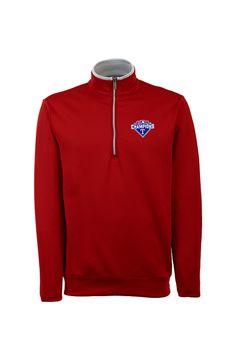 Texas Rangers AL West Champions Red Pullover http://www.rallyhouse.com/texas-rangers-mens-red-leader-short-sleeve-polo-3231898?utm_source=pinterest&utm_medium=social&utm_campaign=Pinterest-TexasRangers $69.99