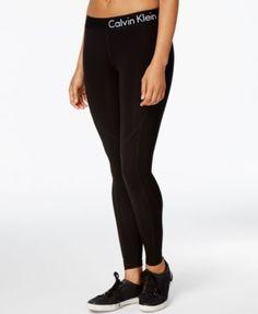 f16bc5d49f040 CALVIN KLEIN Calvin Klein Performance Logo Leggings. #calvinklein #cloth #  leggings Comfy Pants