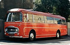 A 1963 Midland Red coach with Plaxton coachwork Blue Bus, Red Bus, Tow Truck, Trucks, Bus City, Bus Coach, Busses, West Midlands, Commercial Vehicle