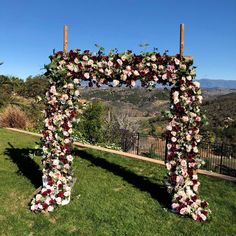Excited to share this item from my #etsy shop: Luxury Burgundy Wedding Arch Flowers, Wedding Arch Flowers, Photo Backdrop, Destination Wedding Flowers, Burgundy Weddings, Reception Decor