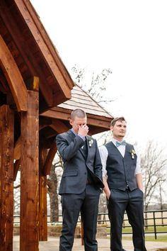 emotional groom | Tucker Images #wedding