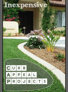 Inexpensive Curb Appeal Projects