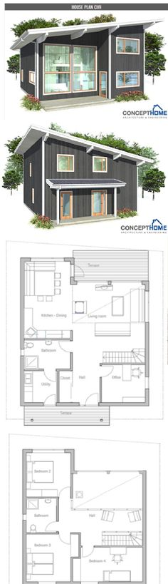 Concept Homes CH9 :: Main Floor 980 sq. ft.