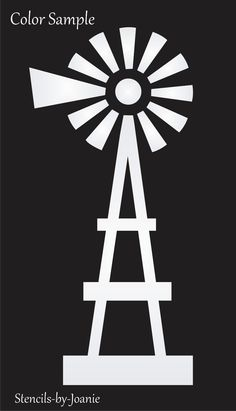 Joanie Farmhouse Windmill Stencil Country Western Ranch Cow Art Sign Many Sizes Sign Stencils, Free Stencils, Stencil Painting, Stenciling, String Art Templates, Stencil Templates, Windmill Art, Windmill Quotes, Farm Windmill