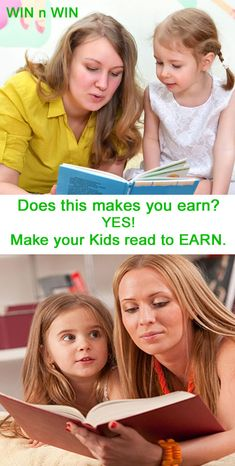 Make your kids learn for your earning. Make them read makes you earn. Win Win right. Our daily free activity is now earning. Know by watching Video. Kids Reading, Love Reading, How To Get Money Fast, Free Activities, Head Start, Investing, How To Apply, Make It Yourself, Learning