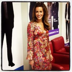 WFMJ Today's Lauren Lindvig looking very stylish in her Nanette Lepore dress!