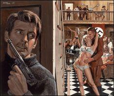 Weird WWII: The Art of Mort Kunstler