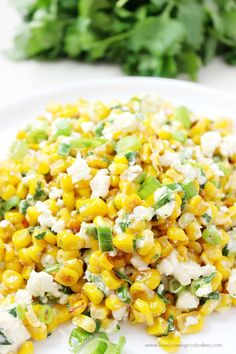 Traditional Mexican Street Corn Salad, ,