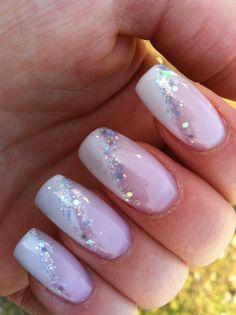gelpolish nails nailart naildesign nailsonfleek manicure g - Marlene Designs Diy Nails, Cute Nails, Pretty Nails, Long Nail Designs, Diy Nail Designs, French Tip Nails, Nail French, Bridal Nails, Wedding Nails