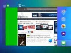 iOS 9 Incorpora un Renovado Sistema Multitarea