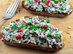 May I Have That Recipe | Meatless Monday: Beluga Lentil and Pomegranate Baba Ghanoush | http://mayihavethatrecipe.com
