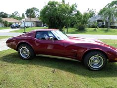 1975 Corvette. My dad had one just like this.
