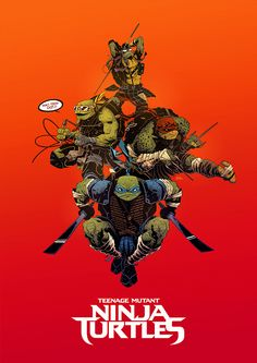 """TMNT """"Legend of the yokai"""" on Character Design Served"""