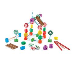 Develop Motor Skills And Colour Recognition with the Candy Construction Building Set from Learning Resources #LoveLearning Great for #STEM #Science #Technology #Engineering and #Maths