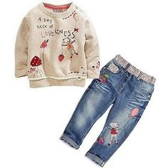 Toddler Cute Baby Girl 2pcs