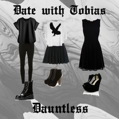 Dauntless Faction.  divergent. Teen Fashion. Date with Tobias