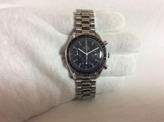 OMEGA SPEEDMASTER AUTOMATIC 3510.50 GREAT WATCH GOOD CONDITION FREE SHIPPING…