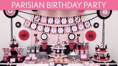 The marvelous Parisian Birthday Party Ideas // Parisian – In Paris Birthday Party Decorations image below, is segment of … Paris Themed Birthday Party, Girls Birthday Party Themes, Birthday Party Tables, Birthday Party Decorations, 8th Birthday, Birthday Ideas, Birthday Supplies, Theme Parties, Party Supplies