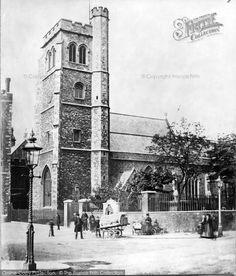 London, Church Of St Mary At Lambeth from Francis Frith London 1800, Victorian London, Vintage London, South London, Old London, Old Pictures, Old Photos, Vintage Photos, London History