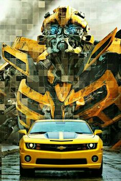 Movie Transformers Age Of Extinction Bumblebee Mobile