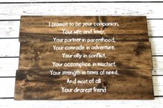 custom quote sign Custom Lyrics Sign Wooden by SignsFromScraps, $100.00