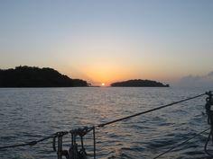 Sailing Along the French Guiana Coast