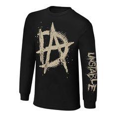 "Dean Ambrose ""Unstable"" Long Sleeve T-Shirt"
