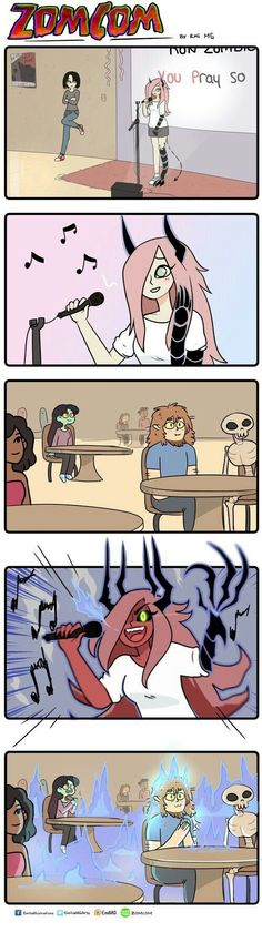 Ideas For Funny Cartoons Drawings Jokes Funny Cartoons, Funny Memes, Jokes, Cute Comics, Funny Comics, Z Toon, Comedy Comics, Mini Comic, Zombie Girl