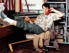 FERRIS BUELLER'S DAY OFF, Matthew Broderick, 1986 | Essential Film Stars, Matthew Broderick http://gay-themed-films.com/film-stars-matthew-broderick/