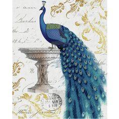 Blue Beauty Peacock Canvass $49.99 www.allthingspeacock.com - Peacock NEW (2)
