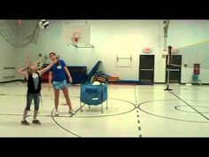 4th-8th grade volleyball overhand serving