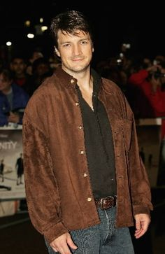 "Nathan Fillion.  I really hope another ""Firefly"" series can be launched!"