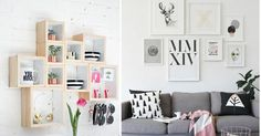 25 ideas para dar vida a tus paredes