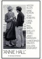 """ANNIE HALL"" Film / Woody Allen as Alvy Singer / Diane Keaton as Annie Hall / Directed by Woody Allen. Neurotic New York comedian Alvy Singer falls in love with the ditsy Annie Hall. Paul Simon, Z Movie, Love Movie, Pretty Movie, Movie Titles, Annie Hall Movie, Diane Keaton Woody Allen, 8k Tv, Les Oscars"