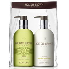 Molton Brown Puritas Hand Wash & Lotion Set - buy at Cream (Sunset Place)