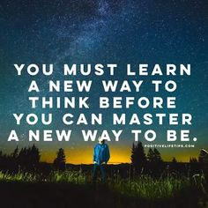 Change the way you think and you will change your life. It's your life, MAKE IT EPIC! Wise Quotes, Great Quotes, Inspirational Quotes, Motivational Quotes, Positive Life, Positive Thoughts, Helping Others, Helping People, Lessons Learned In Life