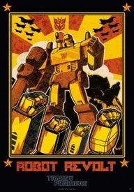 Poster Transformers Robot Revolt (98x68). How it all started, this might be us soon.