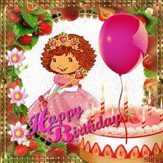 Happy Strawberry Shortcake Birthday!