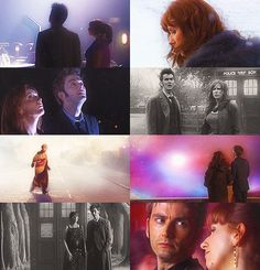 I love Donna because she is genuinely the Doctor's friend. There isn't a bunch of mushy crap there, it's just real friendship. Doctor Who Series 4, Tumblr Big, Face Of Boe, Tardis Blue, 10th Doctor, Donna Noble, Hello Sweetie, Big Three, Man Go