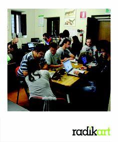 Work in progress-Corso Videomaker Lavoro in classe alla Fondazione Ferretti, per rielaborare il materiale prodotto durante la prima uscita!! :o) Foto di Paolo Nisi