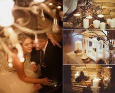 Красивая свадьба зимой  #wedding #rustic