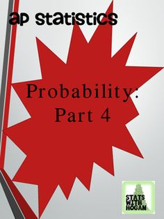 This is the first lesson in a series of lessons on probability. In this lesson students will be exposed to important vocabulary, they will interpret theoretical probability, and use simulations to model chance behavior. Conditional Probability, The Last Lesson, Ap Statistics, Secondary Teacher, Algebra, Vocabulary, Teaching, Behavior, Students