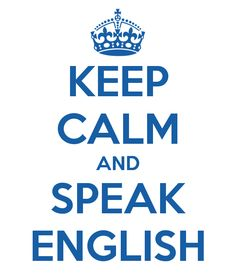 i speak english - 1 h/ zi