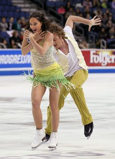 Nathalie Pechalat & Fabian Bourzat