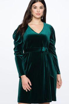 77208aff73b8 Plus Size Green Velvet Dresses – Green Velvet Dresses in Plus Sizes